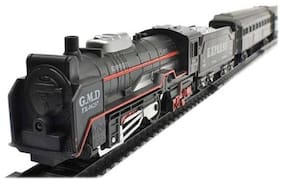 High Speed Metro with Round Track Battery Operated Train Set With Head Light WWQ-08