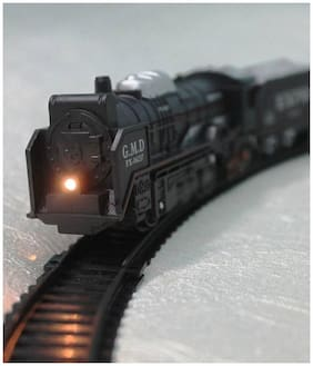 High Speed Metro with Round Track Battery Operated Train Set With Head Light WWQ-01