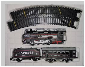 High Speed Metro with Round Track Battery Operated Train Set With Head Light WWQ-06