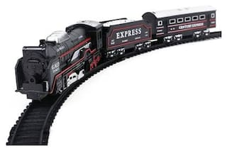 High Speed Metro with Round Track Battery Operated Train Set With Head Light WWQ-17