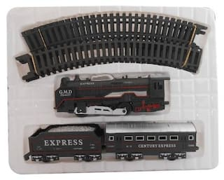High Speed Metro with Round Track Battery Operated Train Set With Head Light WWQ-03