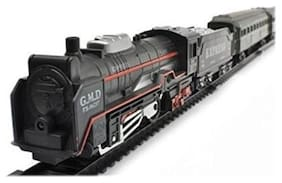 High Speed Metro with Round Track Battery Operated Train Set With Head Light WWQ-09