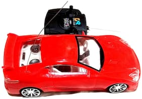 High Speed Radio Control Car,Turn Left, Right Forward Backward. Size- 22/9 cm ( Colors May Vary)
