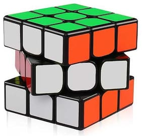 High Speed Ultra Smooth Adjustable Stickerless 3x3x3 Rubik's Cube (Pack of 1)