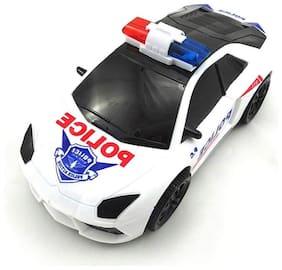 Hill & Oliver 3D Lights Police Car with Sound
