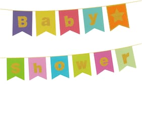 HIPPITY HOP Baby Shower String Banner/ Baby Shower Party Supplies/ Baby Shower Party Decoration (Set of 1)