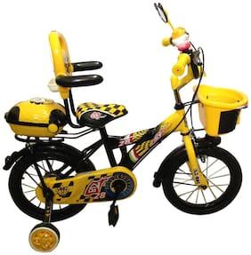 HLX-NMC KIDS BICYCLE 14 BOWTIE YELLOW/BLACK