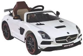 HLX-NMC BATTERY OPERATED MERCEDES-BENZ AMG CAR - WHITE