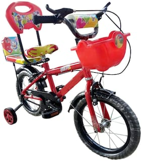 HLX-NMC KIDS BICYCLE RAPID RED-14 INCH 5,600