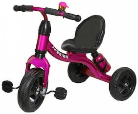 HLX-NMC KIDS FUN MOUSE MUSICAL TRICYCLE PINK/PURPLE 2,800