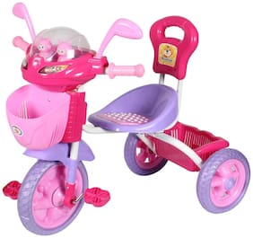HLX-NMC KIDS SPACE SHIP TRICYCLE PINK/PURPLE