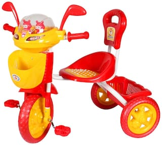 HLX-NMC KIDS SPACE SHIP TRICYCLE RED/YELLOW
