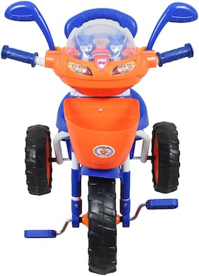 HLX-NMC Kids Space Ship Tricycle Blue & Orange