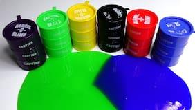 HM Evotek Barrel-O-Slime Non-Sticky Slime Putty Toy Pack of 6