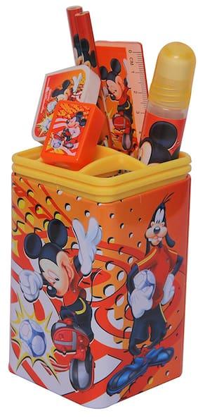 HMI Disney Mickey Mouse Pen Holder Set (Multicolor)
