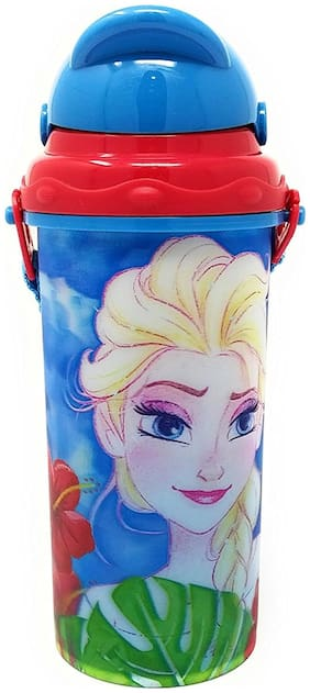 HMI GENUINE Licensed Disney Frozen 3D Lenticular Sipper Bottle / Water Bottle;BPA free;450 ml