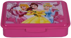 Hmi Original Disney;Marvel & Nickelodeon Cartoon Printed Lunch Box With Container;Bpa Free;800ml;Multi-color