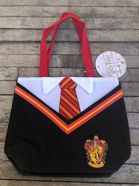 Hogwarts School Uniform Tote Bag Hermione, Harry Potter,Tote Bag (Red and White)