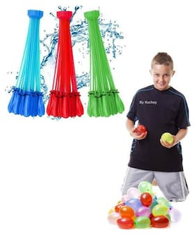 Holi Special Pack Of 111 Balloons;Magic Bunch Of  Water Balloons Fill In 60 Seconds