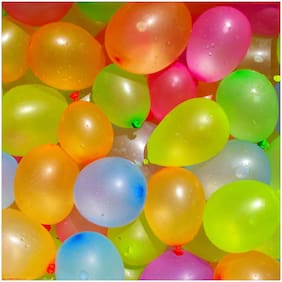Holi Water Shooting Balloons - Multicolor (Pack of 500)
