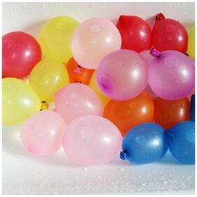 Holi Water Shooting Balloons - Multicolor (Pack of 200)