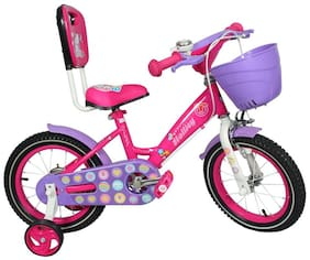 HOLLICY CINDY 35.56 cm (14 inch) KIDS BICYCLE - PINK/PURPLE