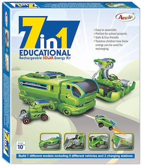 Honeybun Annie 7 - In-1 Educational Rechargeable Solar E Kit
