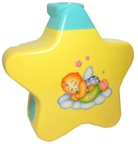 Honeybun Little Angel Baby Sleep Star Projector with Star Light Show and Music for Kids