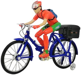 Honeybun Street Bicycle Battery Operated Musical Cycle Toy for Kids