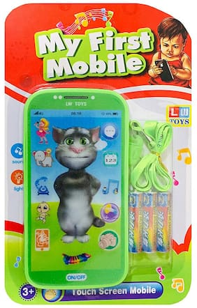 Honeybun Toys Digital Mobile Phone with Touch Screen Feature;Amazing Sound and Light Toy