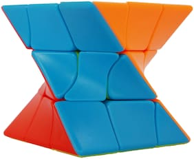 Honeybun Twist Puzzle Cube | High Stability Speed Cube | 3D Puzzle Brain Teaser Toy