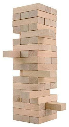 Honeybun Wooden Numerical Tower Tumbling Game For Kids and Adults