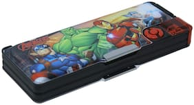 HOOM by HMI Original Marvel Avengers  Multi Storage Pencil Box.