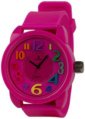 Horo (Imported) Kids High Quality PCV & 3D Round Japanese Movement Watch 50X32mm