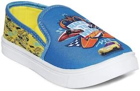 Hot Wheels Blue Girls Casual Shoes