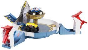 Hot Wheels Monster Trucks Mecha Shark Face-Off