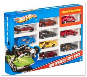 Hotwheels 9 Car Set (cars images may vary from image)