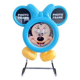 Hua You Mickey Mouse Clock with Photo Frame For Return Gifts for Children Kids