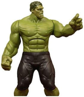 Hulk Classic Titan Tech Ultimate Super Power Action Figure Responds with Touch
