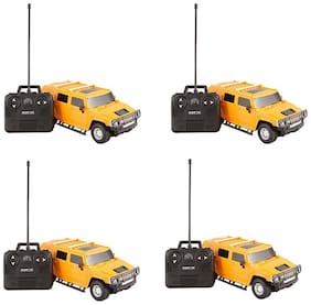 Hummer Cool  Remote Control Car For Kids Pack Of 4