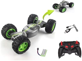 Hyper Tumble Double Sided Flip Remote Controlled Transformation Both Side Drive Stunt Car