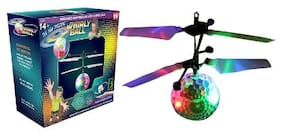 IBS Super Bright;Gravity Defying LED Galaxy Whirly Ball EA 10