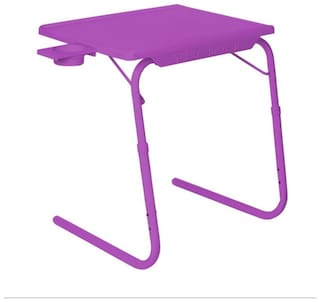 IBS Tablemate Adjustable Folding Table With Cupholder