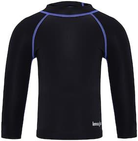 Imagica Boy Polyester T shirt - Black