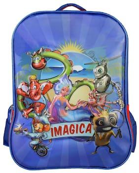 Imagica Character Embossed School Bag