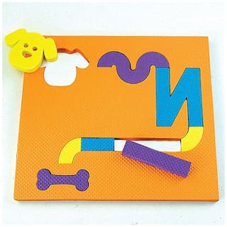 Imagimake Mazelines Activity Kit And Puzzle (3 Years +) To Build Problem Solving And Spatial Recognition, 8 mm Foam (Multicolor)