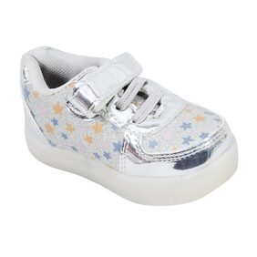 Enso Imported Kids Silver Shoes