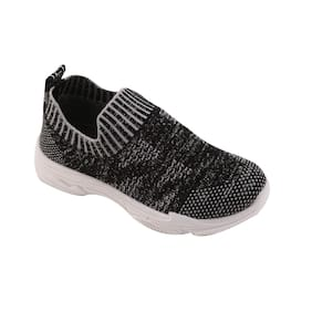 Enso Black Unisex Kids Casual shoes