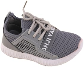 Enso Grey Unisex Kids Casual shoes