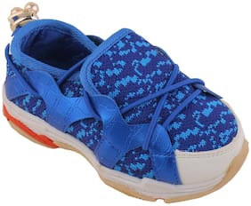 Enso Blue Casual Shoes For Infants